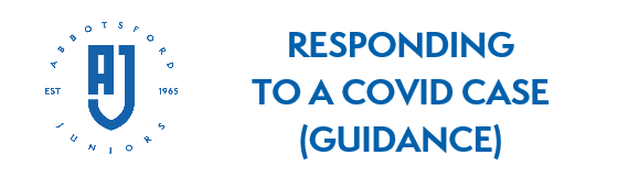 AJFC Guidance about responding to a COVID case or suspected COVID case