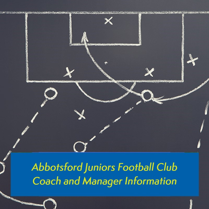Abbotsford Juniors Football Club - Coach and Manager information