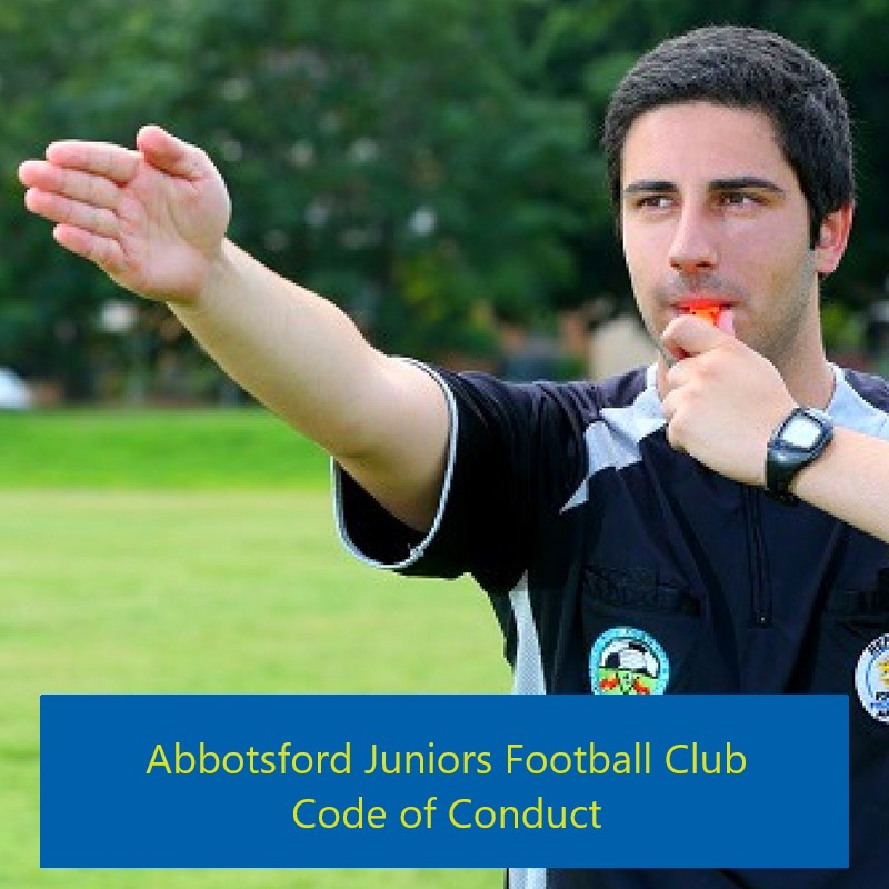 Abbotsford Juniors Football Club - Code of Conduct