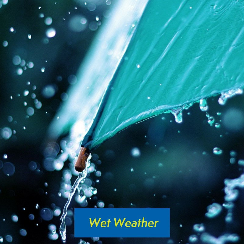 Wet Weather information